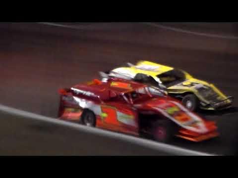 Sport Mod Amain @ Hancock County Speedway 05/18/18 - dirt track racing video image