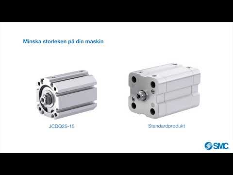 SMC | Pneumatisk Cylinder: Nya J-Serien från SMC - Ökad produktivitet & förbättrade cykeltider