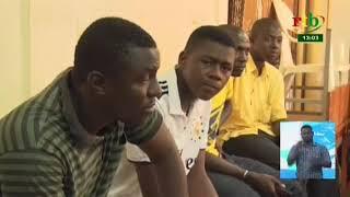 RTB / Les membres du comités de gestion du marché central de Bobo Dioulasso