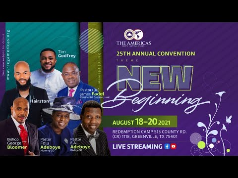 RCCGNA CONVENTION 2021 - DAY 1