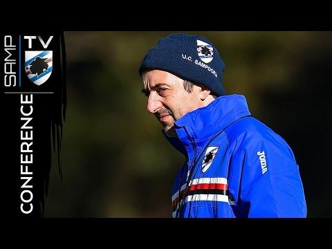 Genoa-Sampdoria: la conferenza stampa di Giampaolo