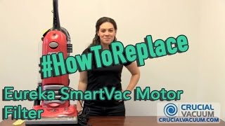 Eureka Smartvac Motor Filter Replacement Part 70082 Youtube