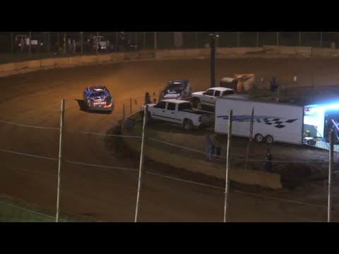 Limited Late Model at Winder Barrow Speedway July 10th 2021 - dirt track racing video image