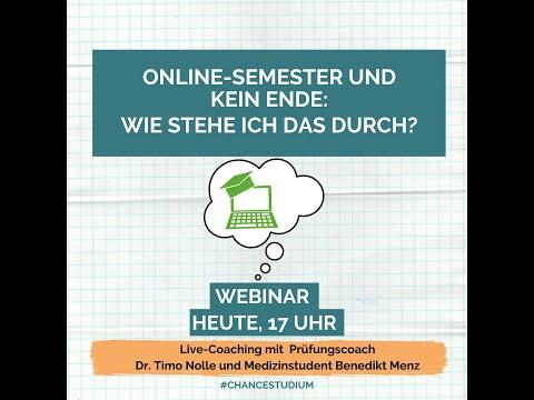 Online-Semester und kein Ende: Wie stehe ich das durch?