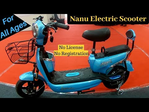 Nanu e-scooter for All Age Groups in India | Joy eBike | Small Electric Scooter