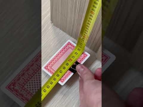 Как измерить рулеткой в углах? Строительный лайфхак #shorts