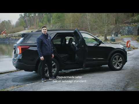 Derfor er den nye 7-seteren Ford Explorer ladbar hybrid et godt kjøp!