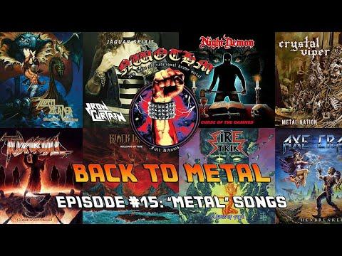 """Back to Metal #15 - """"Metal Songs"""""""