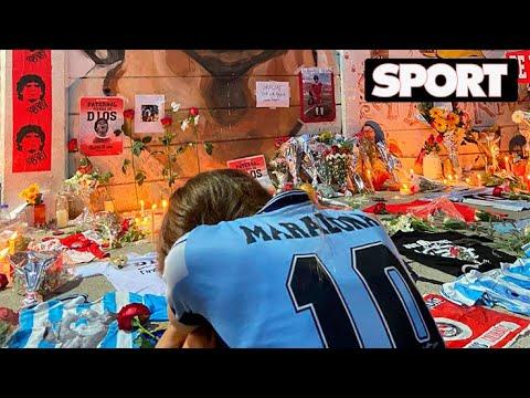 DIRECTO MARADONA: ARGENTINA DESPIDE A DIEGO