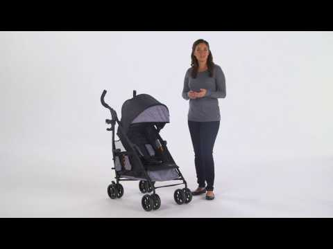 Summer Infant 3Dtote Convenience Stroller Product Video
