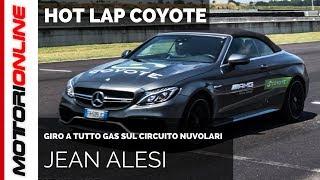 Jean Alesi, Hot Lap con Mercedes AMG