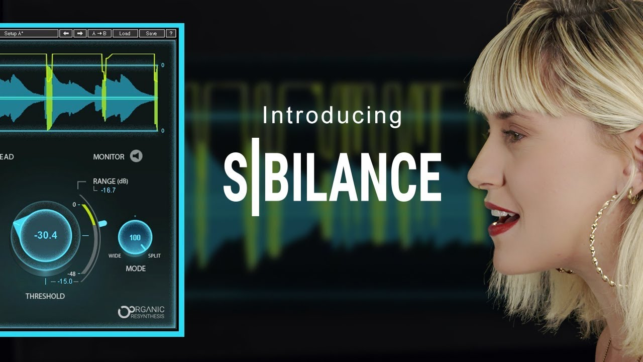 Presenting Sibilance: Transparent Vocal DeEsser Plugin | Waves