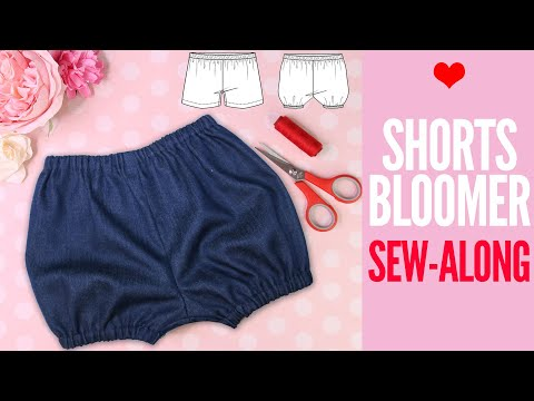 Shorts and Bloomers Pattern | SEW ALONG