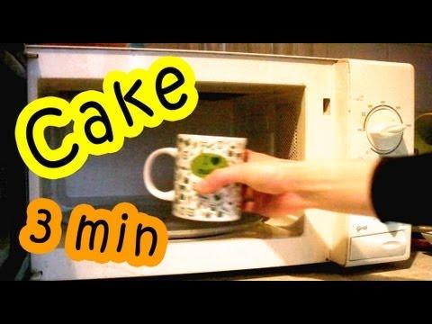 How To Make Microwave Cake In A Cup - 3 Minute Recipe - UC_FNd7A9b0adbxmpuzIm5ZA