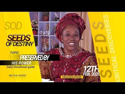 Dr Becky Paul-Enenche - SEEDS OF DESTINY - WEDNESDAY 12TH FEBRUARY, 2020