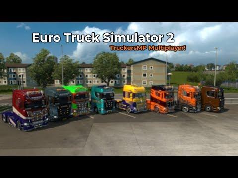 Euro Truck Simulator 2  TruckersMP Livestream 07072018