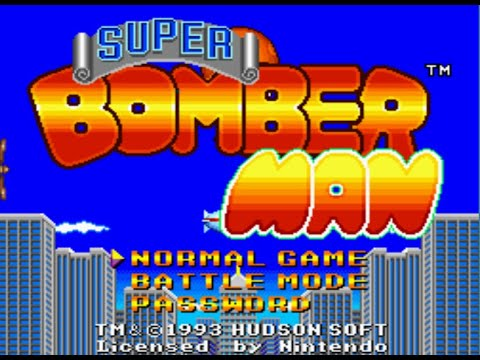 Bomberman (SNES) - Review de RETROJuegos por Fabio Didone