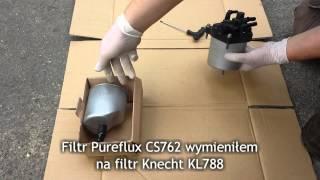 Sostituire filtro gasolio 207-Peugeot