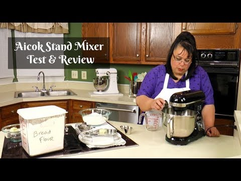 Aicok Stand Mixer Review | 5 Quart Stand Mixer | Amy Learns to Cook