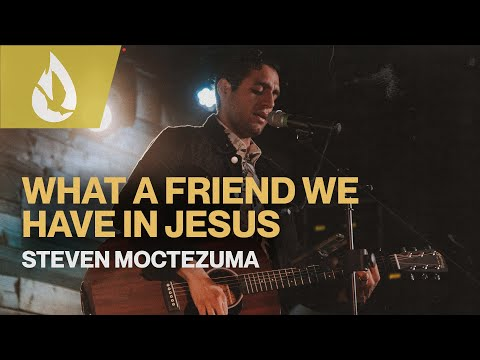 What a Friend We Have in Jesus (with Lyrics)  Acoustic Worship Cover by Steven Moctezuma