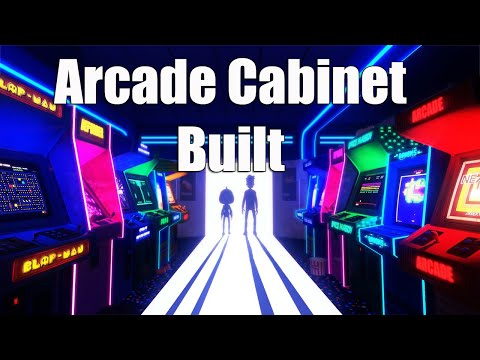 Arcade Cabinet build - How-To (i hope soon) #aMiGaTrOnIcS videos