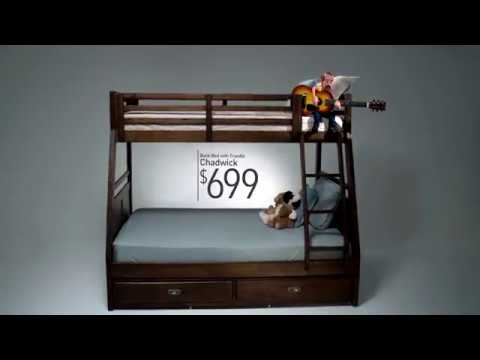 The Ballad of the Chadwick Bunk Bed – Bob's Discount Furniture