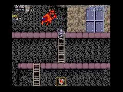 Ghost'n Goblins (MSX turbo R + GFX9000) - Demo 002