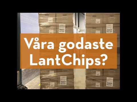 Svenska LantChips Ost & Vitlök är här!