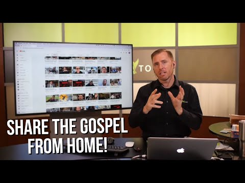 How to EASILY Share the Gospel Online!