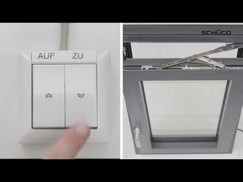 Schüco Building Skin Control - Verknüpfung in der ETA und im Automationsmanager