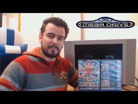 MEGA GAMES 1 y 2 (Megadrive / Genesis) - Juegos clásicos absolutos de Sega