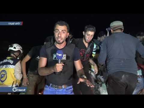 مقتل امرأتين بقصف جوي لميليشيا أسد على بلدة كفرومة بإدلب
