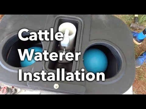How to Install a MiraFount Livestock Water System