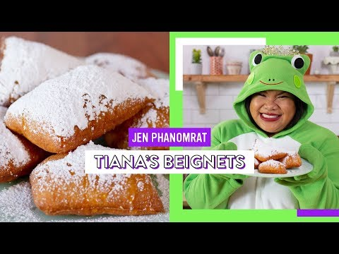 Recreating Princess Tiana's Beignets | Good Times With Jen