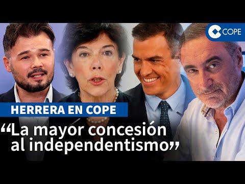 Herrera «estalla» contra la Ley Celaá: «Corrosiva»