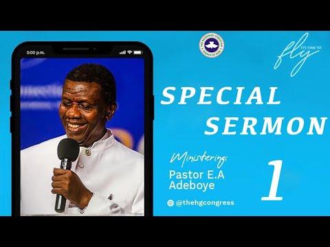 PASTOR E.A ADEBOYE SERMON - CATEGORIES OF PRAISE