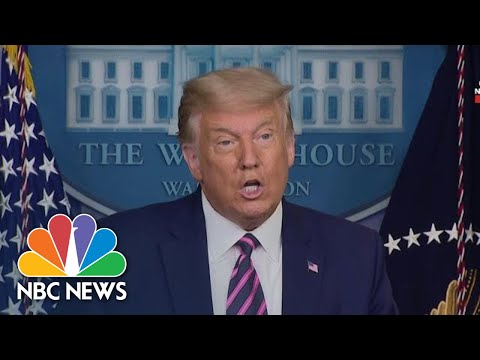 Trump Announces Vaccine Rollout, Claims Enough Vaccines For All Americans By April | NBC News NOW