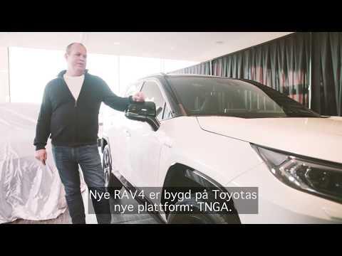 Toyota presenterer: RAV4 Hybrid 2019
