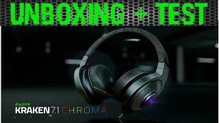 Vidéo-Test : [Unboxing & Test] Razer Kraken 7.1 Chroma (HD)(FR)