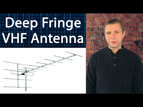 Stellar Labs Deep Fringe VHF TV Antenna Review - The Best for High VHF?