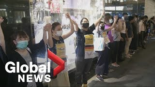 Hong Kong protests sink businesses' profits
