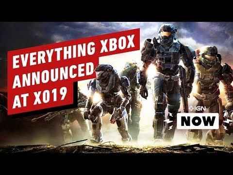 Everything Xbox Announced at X019 - IGN Now - UCKy1dAqELo0zrOtPkf0eTMw