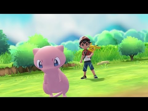 Mew Pokeball Plus Announcement for Pokemon Let's Go Pikachu & Eevee  - E3 2018 - UCKy1dAqELo0zrOtPkf0eTMw