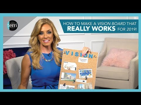 How to Make a Vision Board that REALLY Works for 2019