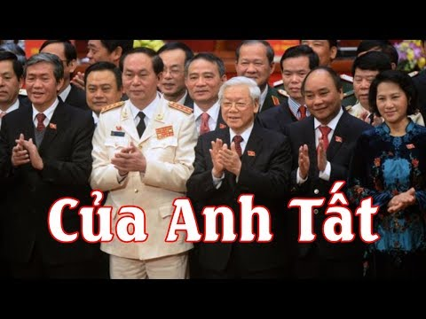 TBT Nguyễn Phú Trọng nắm trọn quyền lực khi bắt được Thanh-Thăng