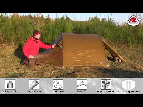 Goshawk Backpacking Tent - 2018 | Pure Outdoor Passion