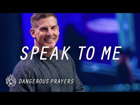 Speak to Me: Dangerous Prayers