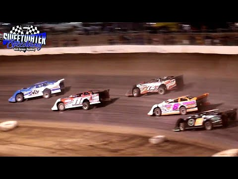 Sweetwater Speedway High Plains Late Model Series Main Event 7/4/21 - dirt track racing video image