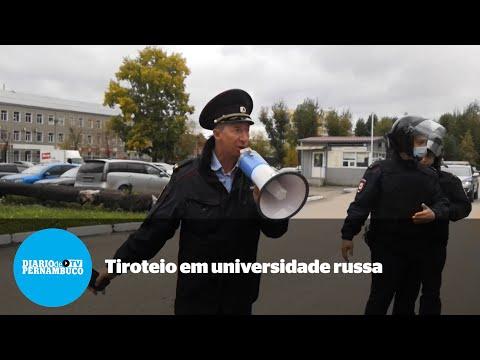 Estudante abre fogo e mata pelo menos seis pessoas em universidade russa