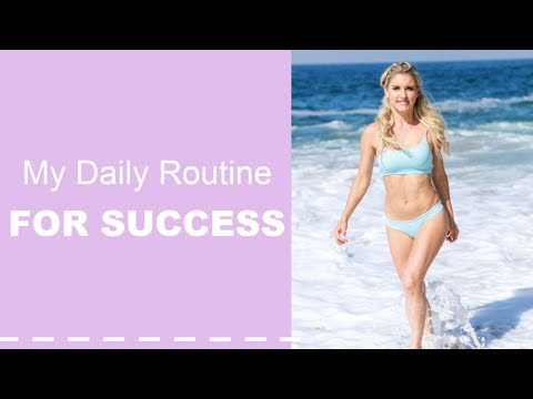 The Daily Routine for SUCCESS - WAKE UP WEDNESDAY | Rebecca Louise